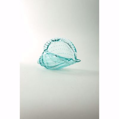 Picture of Glass Shell Light Blue