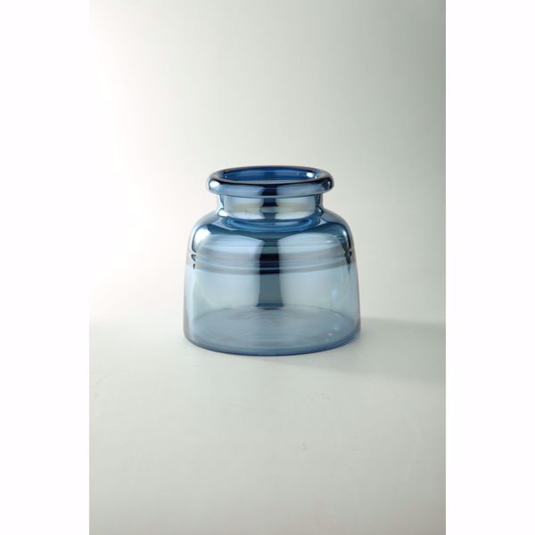 Picture of Blue Glass Bottle
