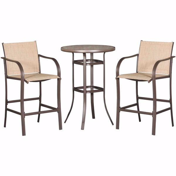 Picture of Weston Patio 3 Piece Bistro Set