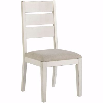 Picture of Grindleburg White Side Chair