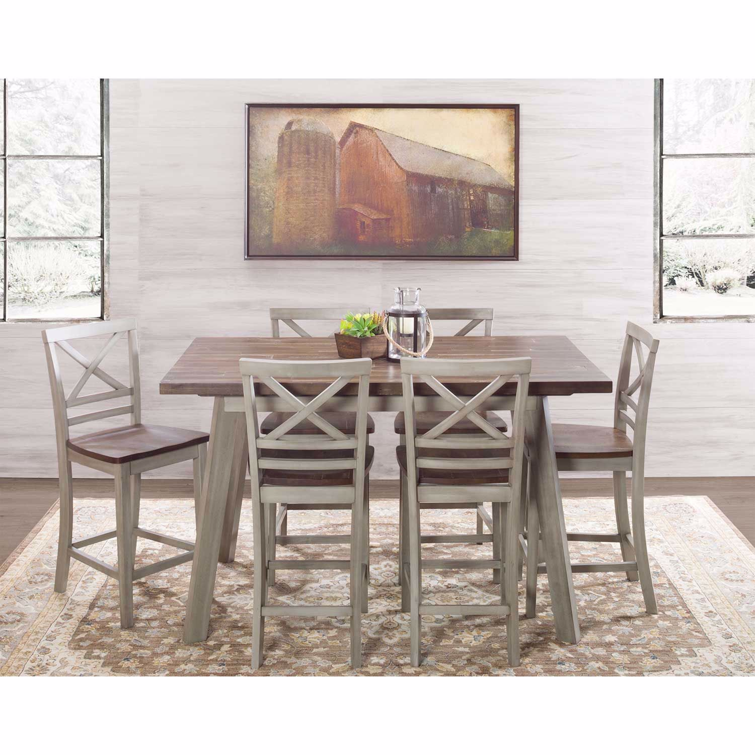 Picture of Fairhaven 7 Piece Counter Dining Set