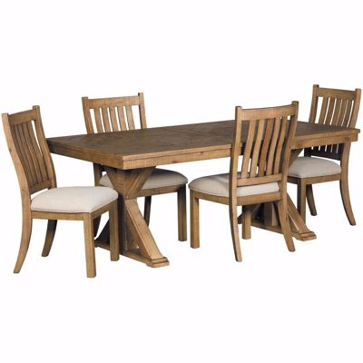 Picture of Grindleburg 5 Piece Rectangular Dining Set