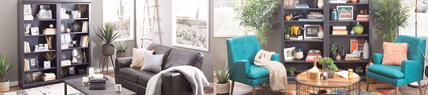 A Reading Nook Two Ways