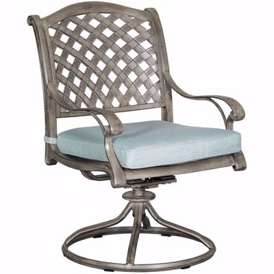 Picture of Macon Patio Swivel Rocker with Cushion