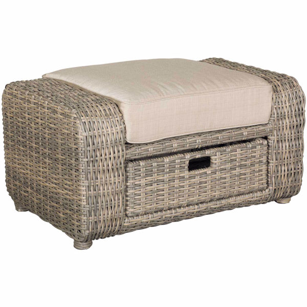 Picture of Brunswick Ottoman with drawers
