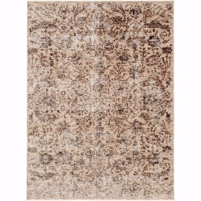 Picture of Legend Ivory Beige Distressed 5x8 Rug