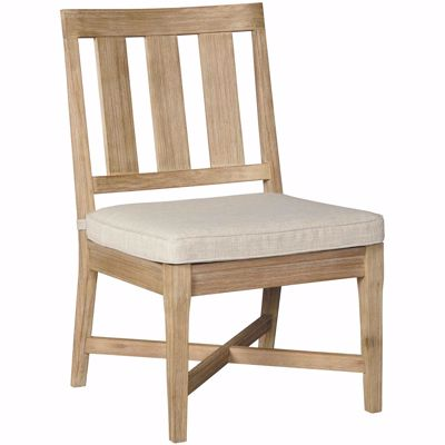Picture of Clare View Outdoor Side Chair with Cushion