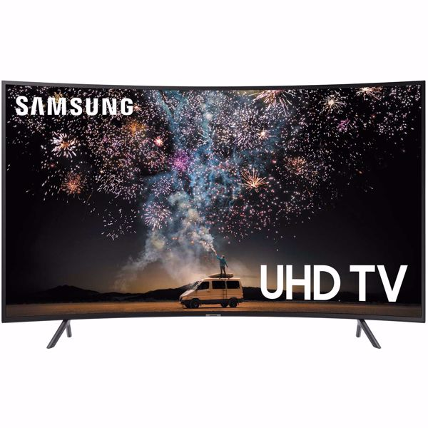 "Picture of 55"" Curved LED Smart 4k TV"