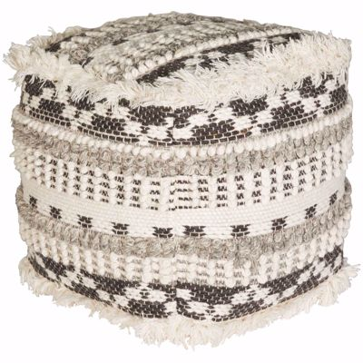 Picture of Ellinger Wool Pouf