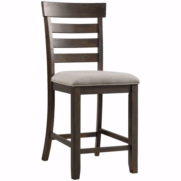 """Picture of Colorado 24"""" Upholstered Seat Barstool"""