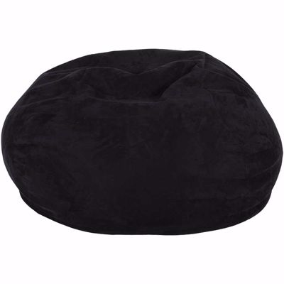 Picture of Black Memory Foam Lounge Bag