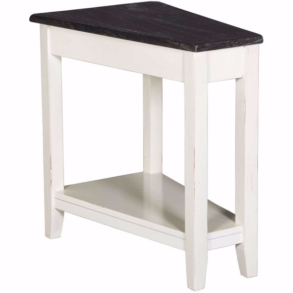 Picture of Two Tone Chairside Table