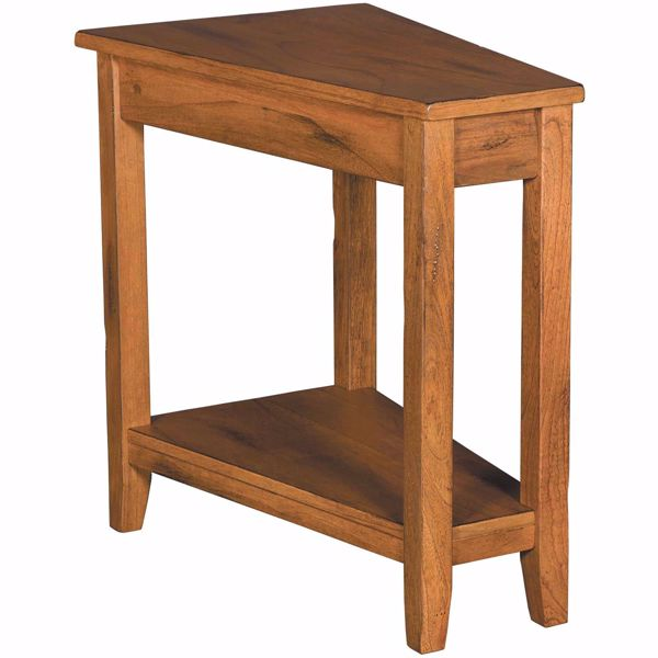 Picture of Rustic Oak Chairside Table