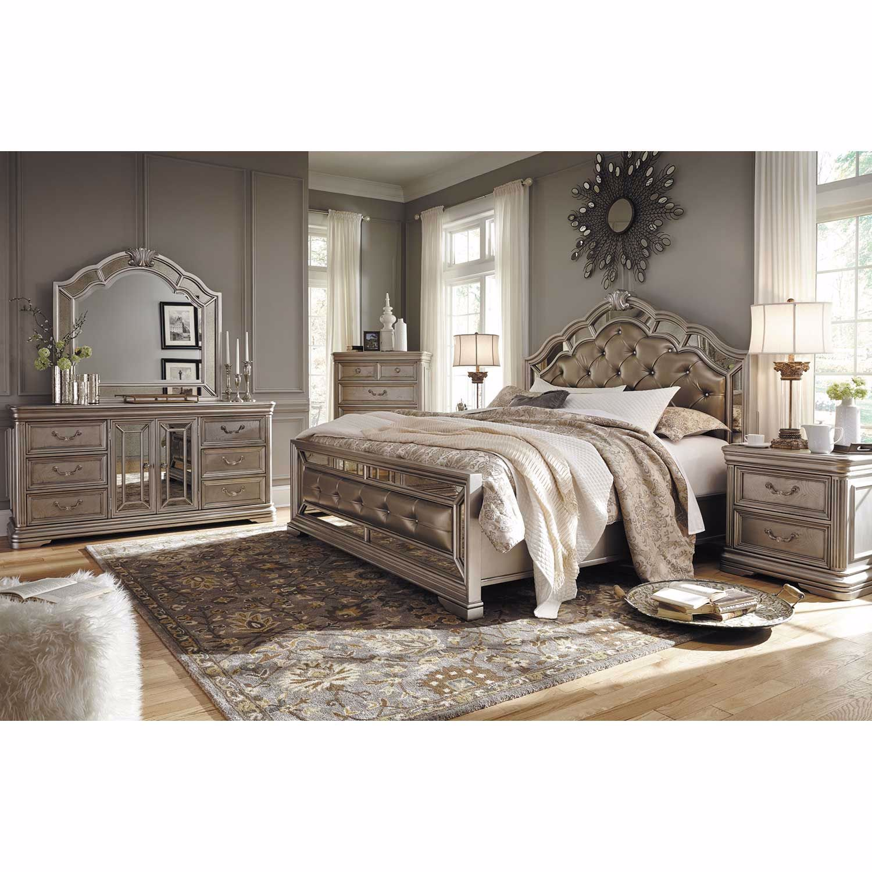 Birlanny 5 Piece Bedroom Set B720 Qbed 31 36 46 92 Ashley Furniture Afw Com