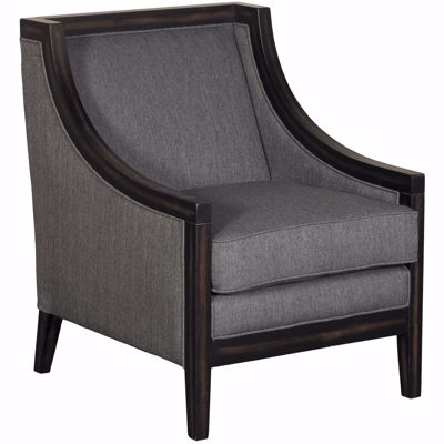 Picture of Charcoal Wood Arm Chair