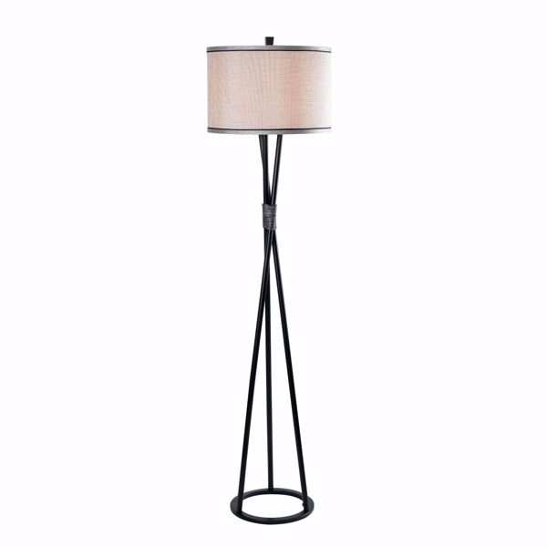 Picture of Mariah Iron Twist Floor Lamp