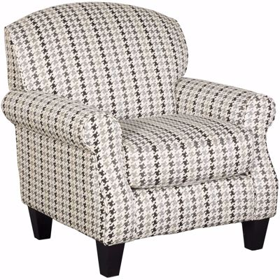 Picture of Grays Peak Houndstooth Accent Chair