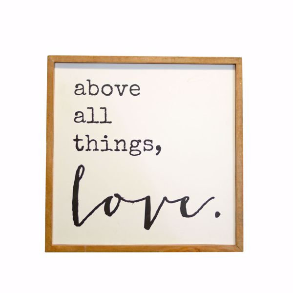 Picture of All Things Love Wall Decor