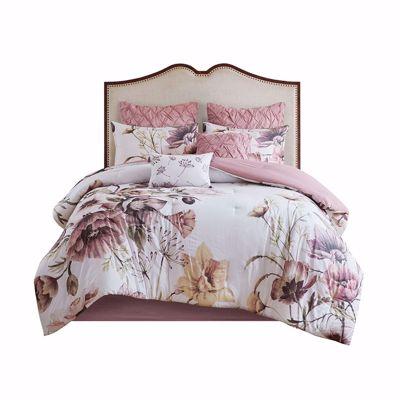 Picture of Cassandra 8 Piece Queen Comforter Set