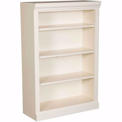 Picture of White Bookcase, 3 Shelf