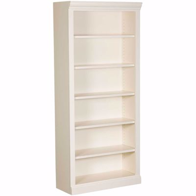 Picture of White Bookcase, 5 Shelf