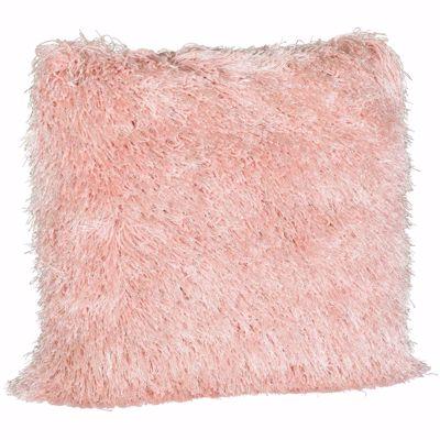 Picture of Blush Sparkle Shag 20x20 Pillow *P