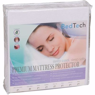 Picture of Cal King Premium Terrycloth mattress protector