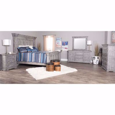 Picture of Gray Isabella 5 Piece Bedroom