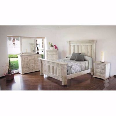 Picture of Isabella White 5 Piece Bedroom