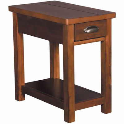 Picture of Cherry Chairside Table