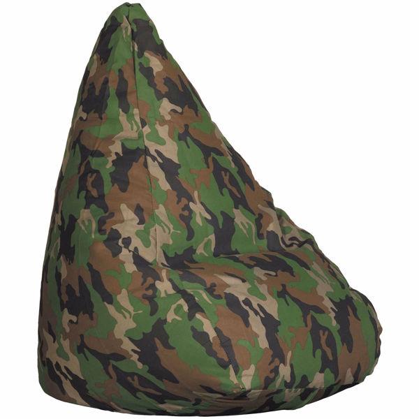 Picture of Green Camo Bean Bag