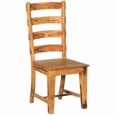 Picture of Prana Cinnamon All Wood Side Chair