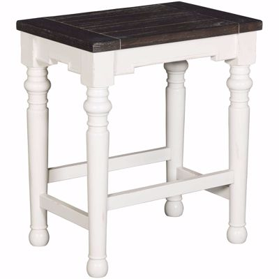 "Picture of Bourbon Country 24""Height Barstool Wood Seat"