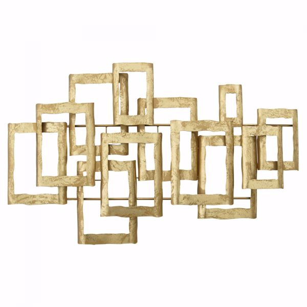 Picture of Gold Metal Wall Decor