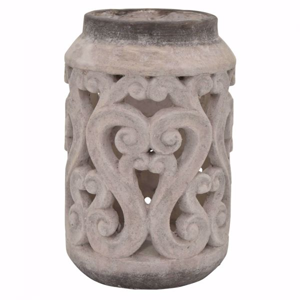 Picture of Pierced Scrolled Flower Pot