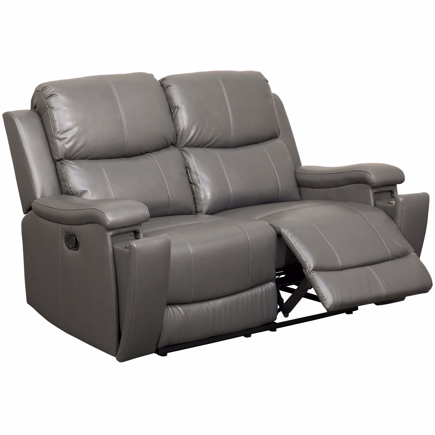 Picture of Dayton Leather Reclining Loveseat
