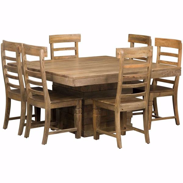 Picture of Vintage 7 Piece Square Table Set