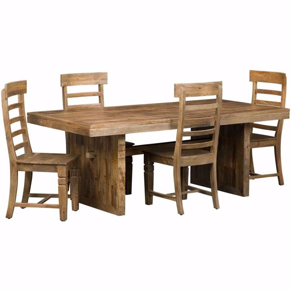 Picture of Vintage Rectagular Table 5 Piece Set