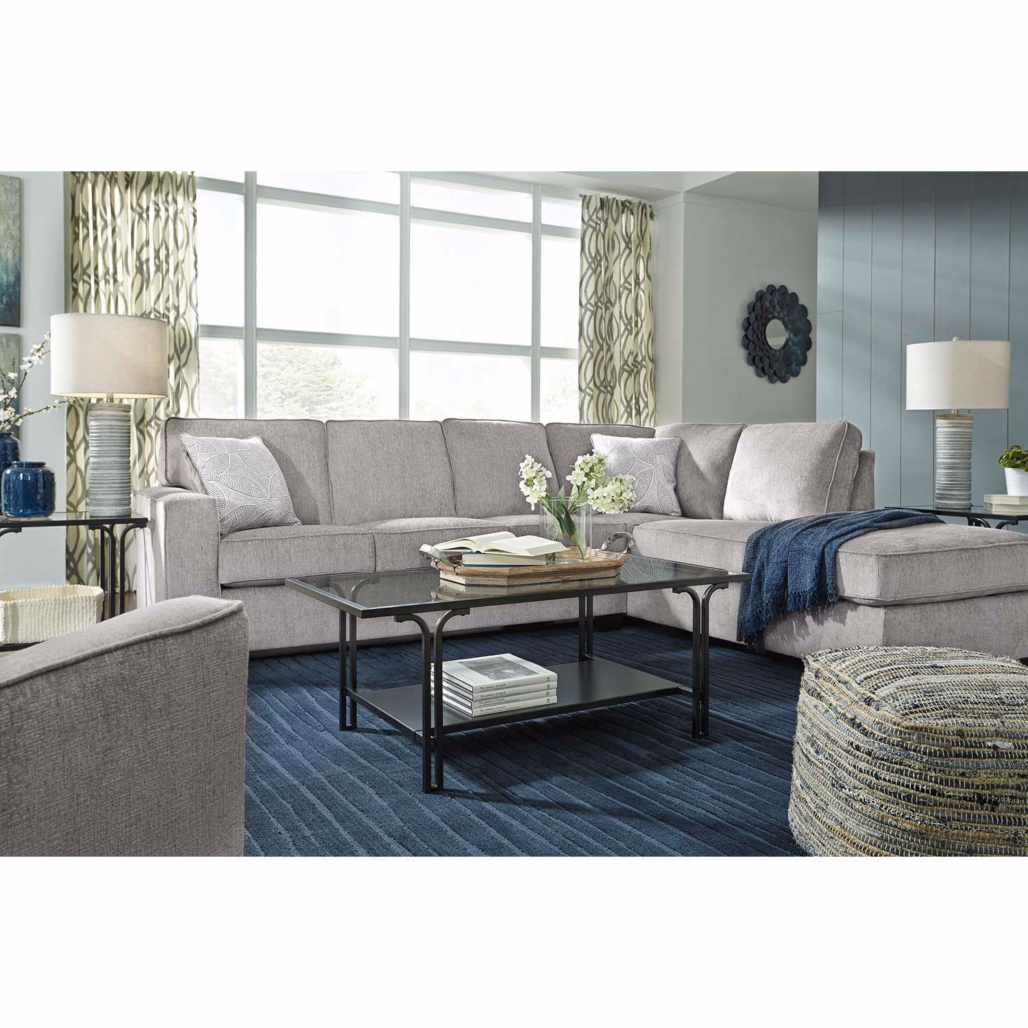 Picture of Altari Alloy 2 PC Sleeper Sectional with LAF Chaise