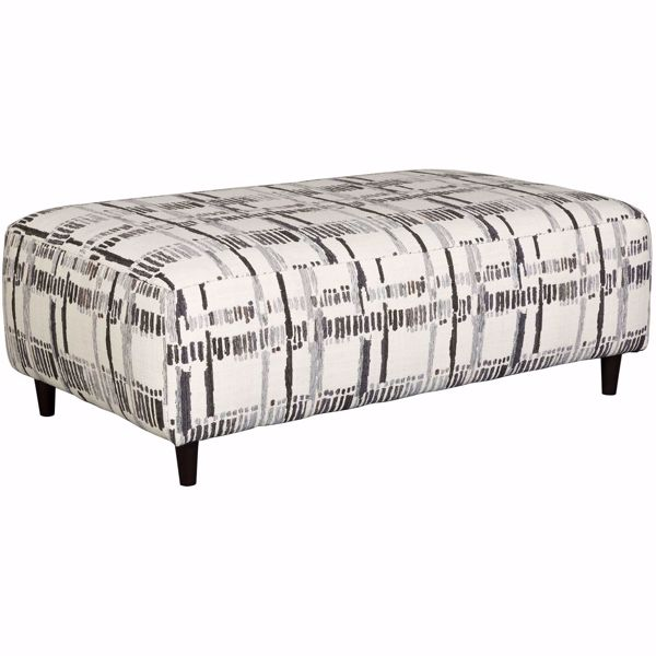 Picture of Kennewick Paint Strokes Cocktail Ottoman