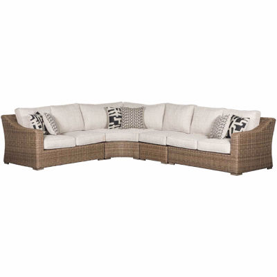 Picture of Beachcroft 4 Piece Outdoor Patio Sectional