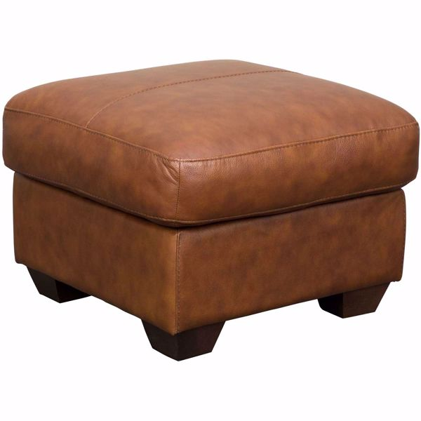 Picture of Whisky Italian All Leather Ottoman