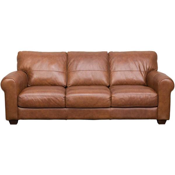 Whisky Italian All Leather Sofa 4829, Leather Furniture Texas