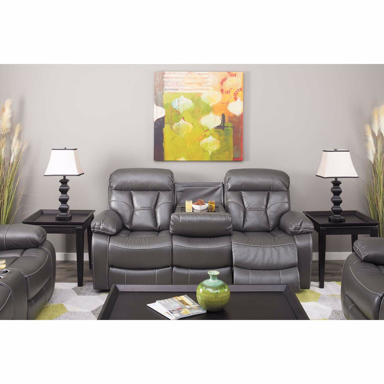 Picture of Parker Power Reclining Console Loveseat