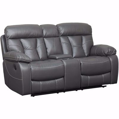 Picture of Parker Reclining Console Loveseat