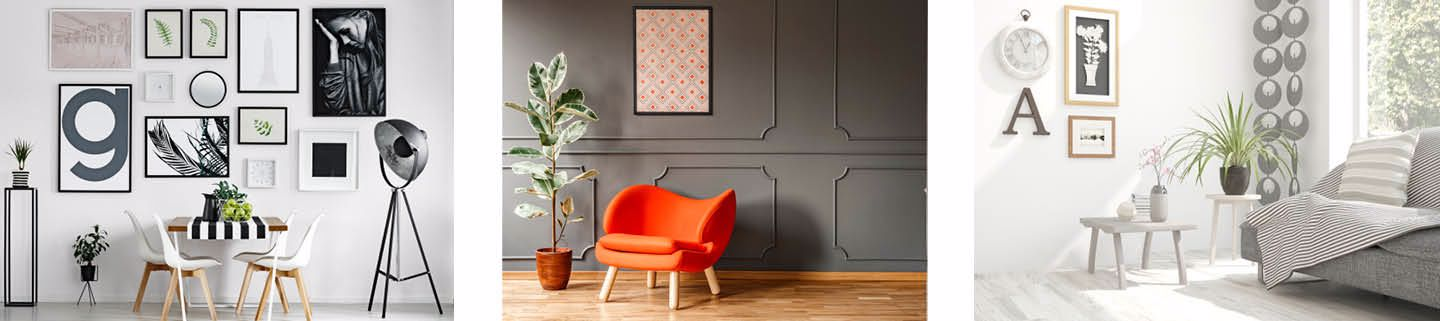 How to Decorate a Large Wall Space