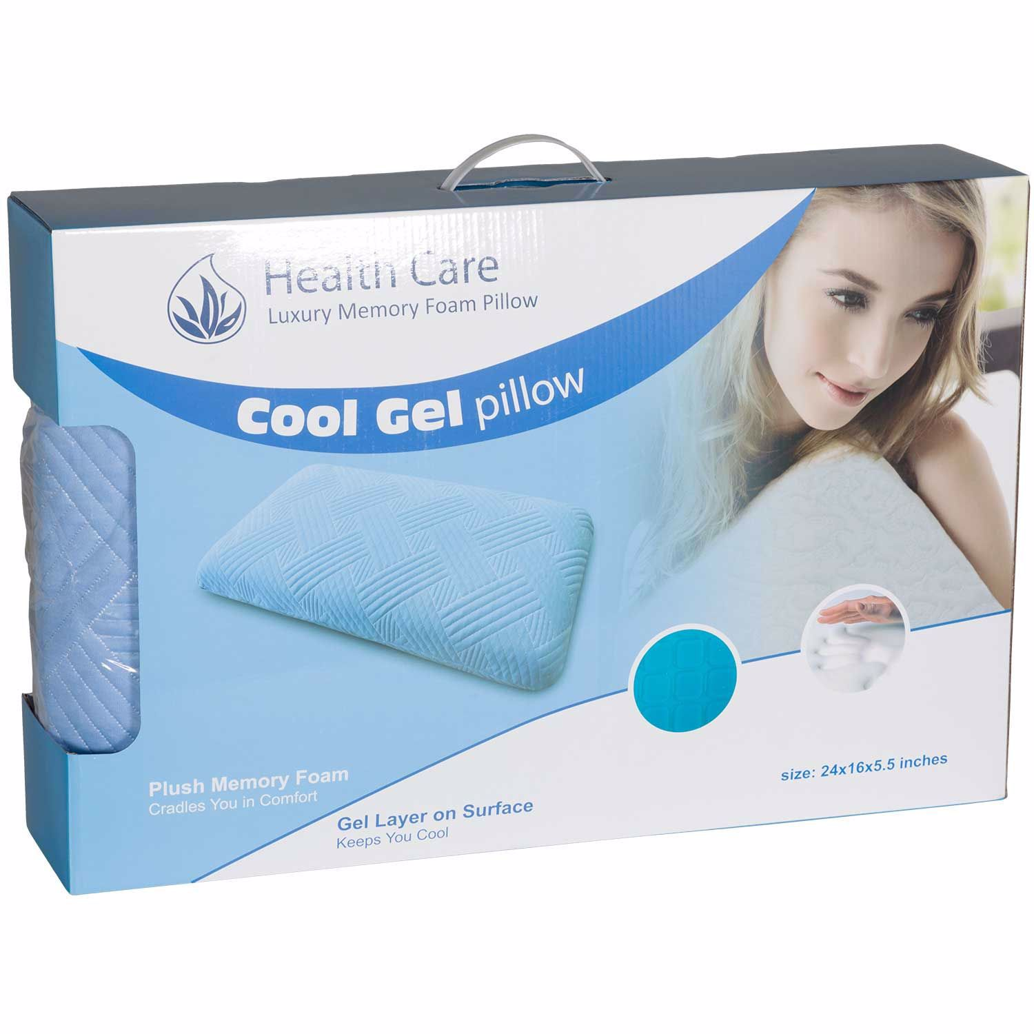 Picture of King Cool Square Gel Pillow