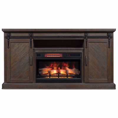 Picture of Southgate Media Fireplace in Coffee Finish