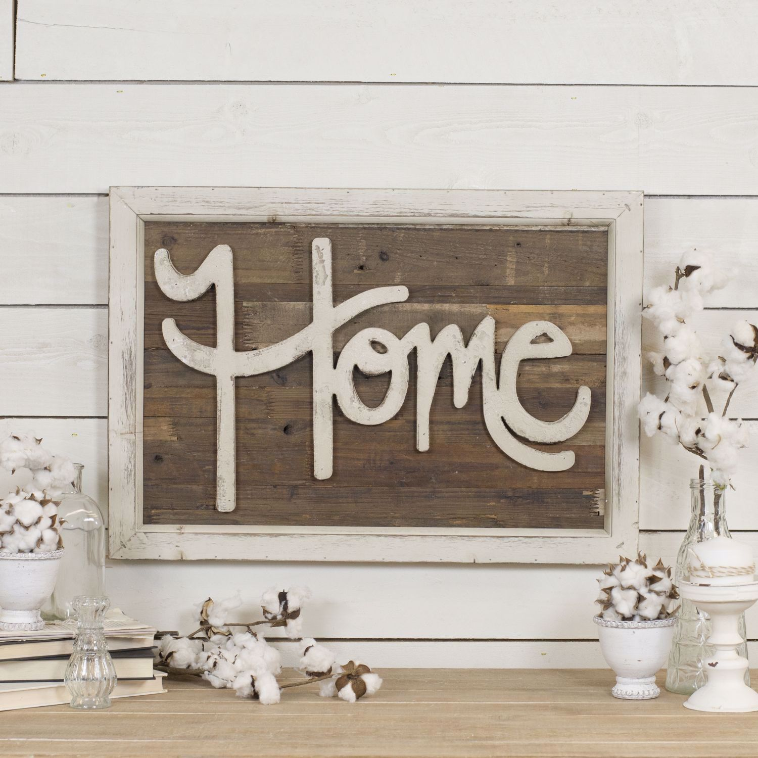 Picture of Home Wood Sign