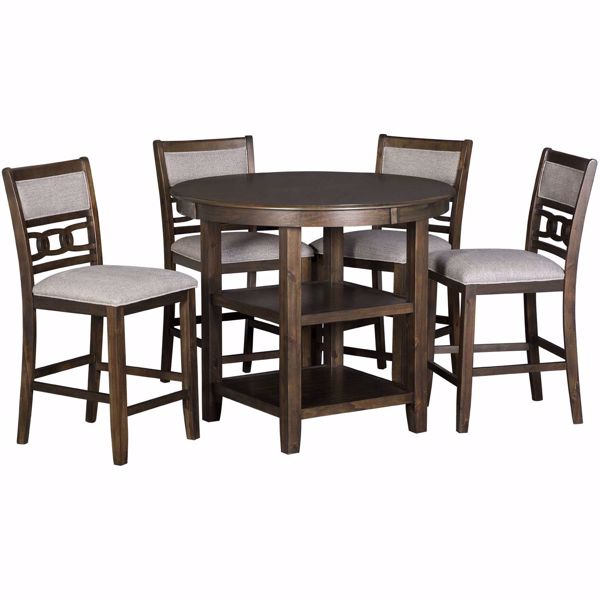 Picture of Amherst 5 Piece Counter Dining Set